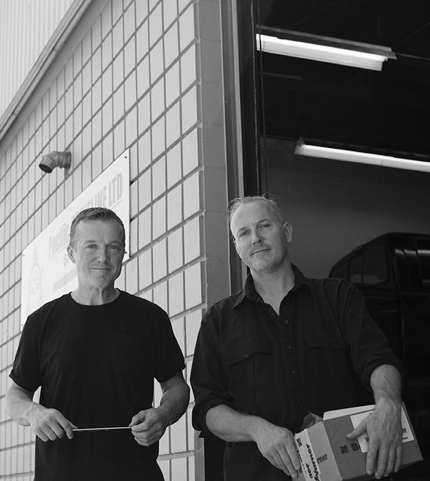 Transmission mechanics Johnny & Bert